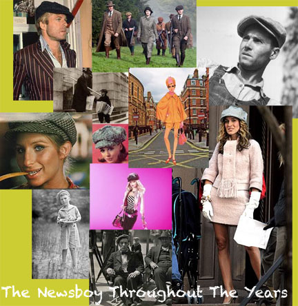 The Iconic Newsboy Hat