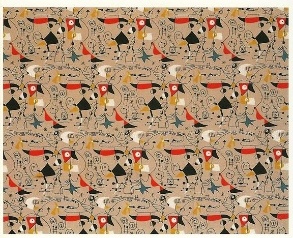Joan Miró InspiredFabric