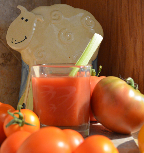 Garden Thyme-Tomato Sunrise
