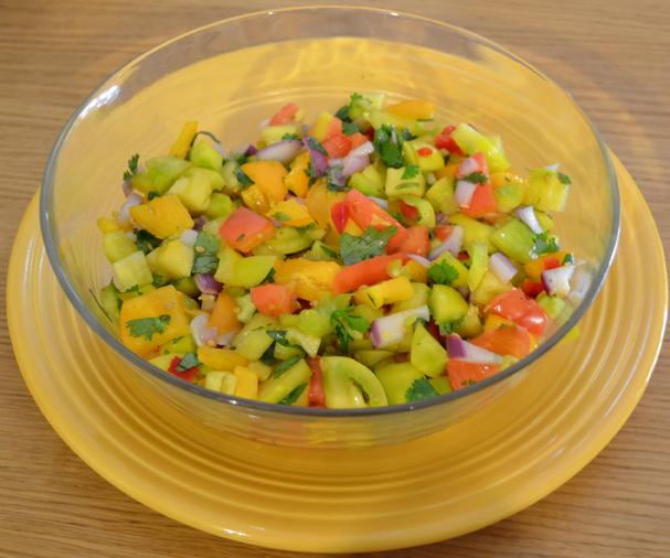 Garden Thyme-Salsa As An ArtForm