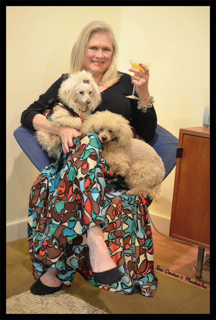 My Sew Sew Life-Vintage Patterns, Martinis and Poodles