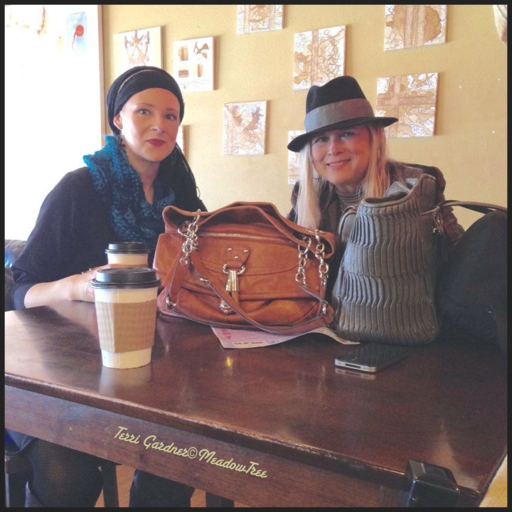 Coffee With Michelle In Joplin Wearing Dad's Hat-Hats & Wraps #1