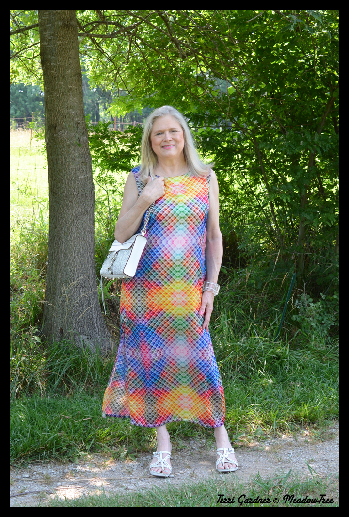 The Perfect Summer Dress For A Retired Art Teacher