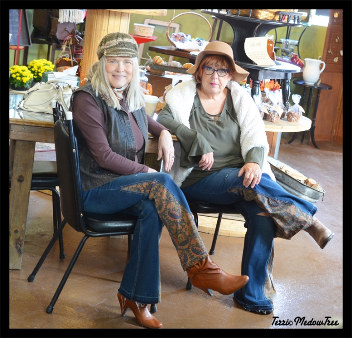 Bohemiam Jeans, Ascot Hat and Good Friends