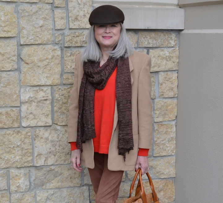 Red, Tan & Brown-2nd Loved 1st Friday Linkup