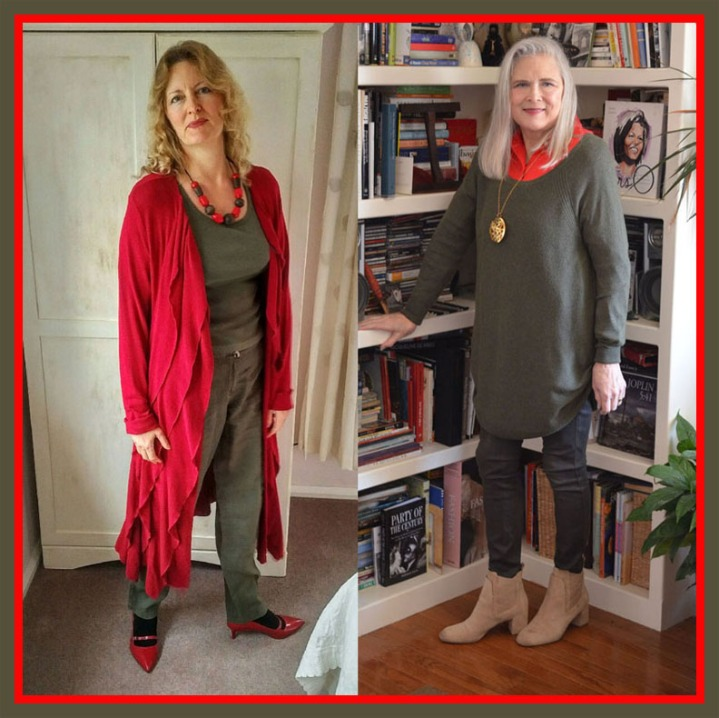Red + Olive: a Complementary Collaboration