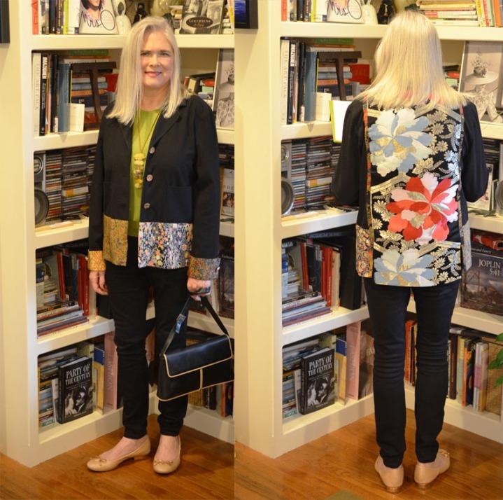 Embellishing With Vintage Silk &Linkup