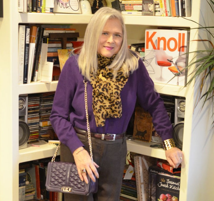 Purple, Brown and Leopard For Style ImitatingArt