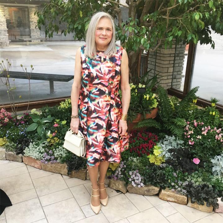 My Sew-Sew Life: Tom & Linda Platt's Dress, Vogue Pattern 1348, for Style ImitatingArt