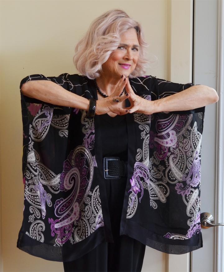 My Sew Sew Life: Remnants,  a Kimono &Dragonflies