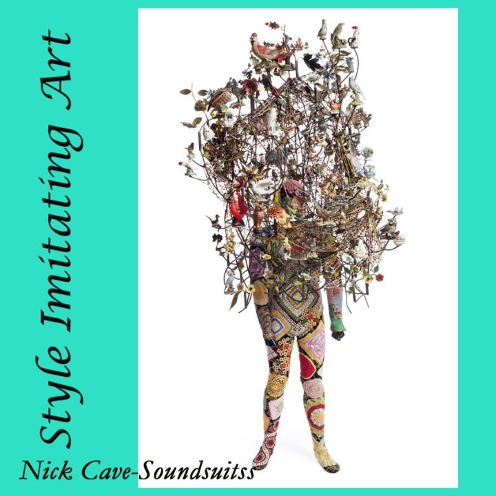 Style Imitating Art-a Soundsuit by Nick Cave