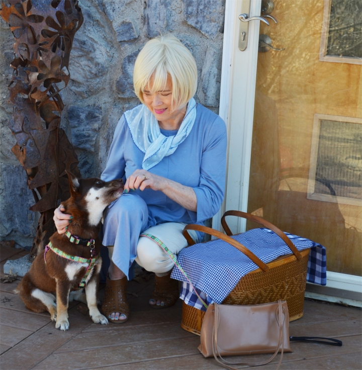 Bea & Me for SIA's Woman withDog