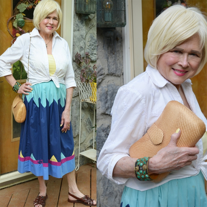 "A #memade Skirt for Sonia Delunay's ""Simultaneous Dresses"""