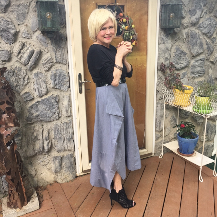 My Sew Sew Life-Vogue 1567; a Paco Peralta Skirt-Making &Styling