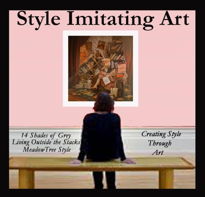 Style Imitating Art-Booky by PattyCarroll