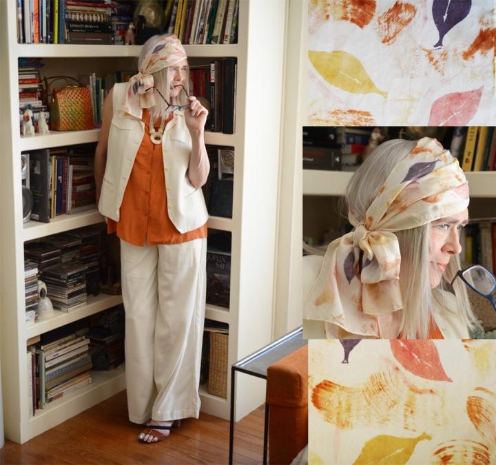 Orange & Neutrals for Patty Carroll'sBooky
