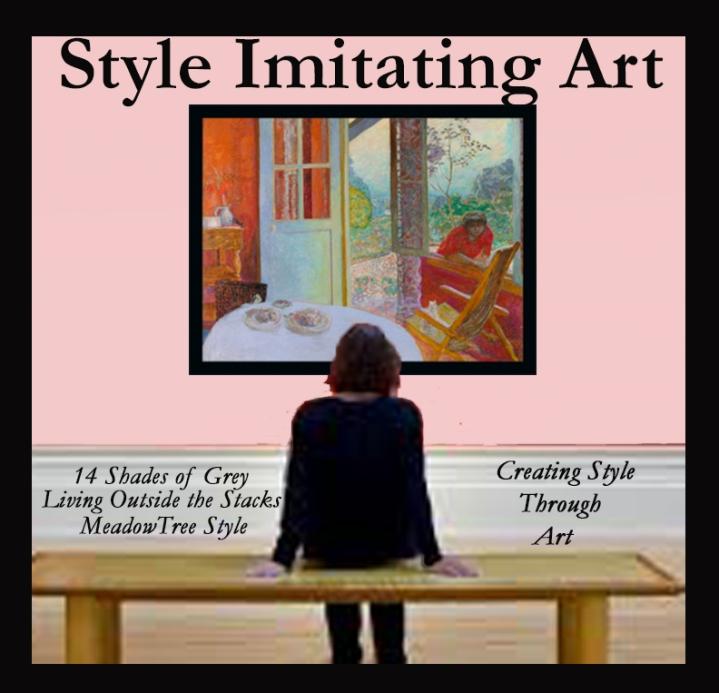 Style Imitating Art-PierreBonnard's