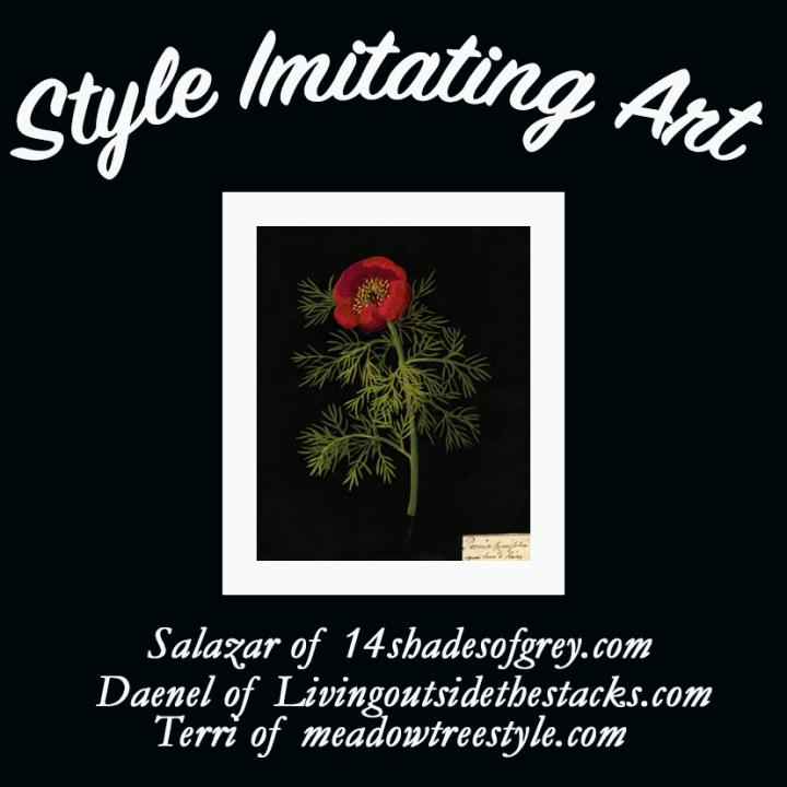 Style Imitating Art-Flower 'Mosaicks' by MaryDelaney