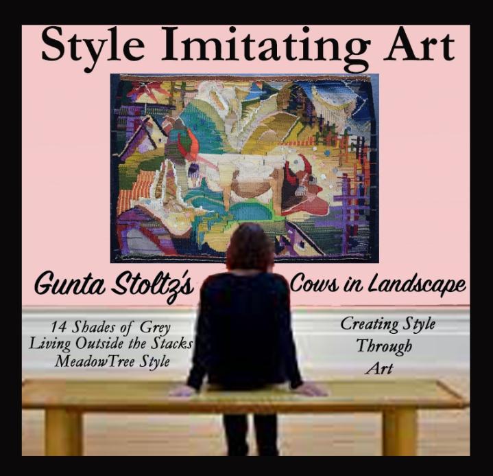 Style Imitating Art Round Up-Gunta Stöltz'sWeaving
