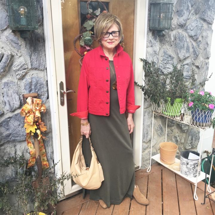 "Red & Green for Mary Delaney's Flower ""Mosaicks"""